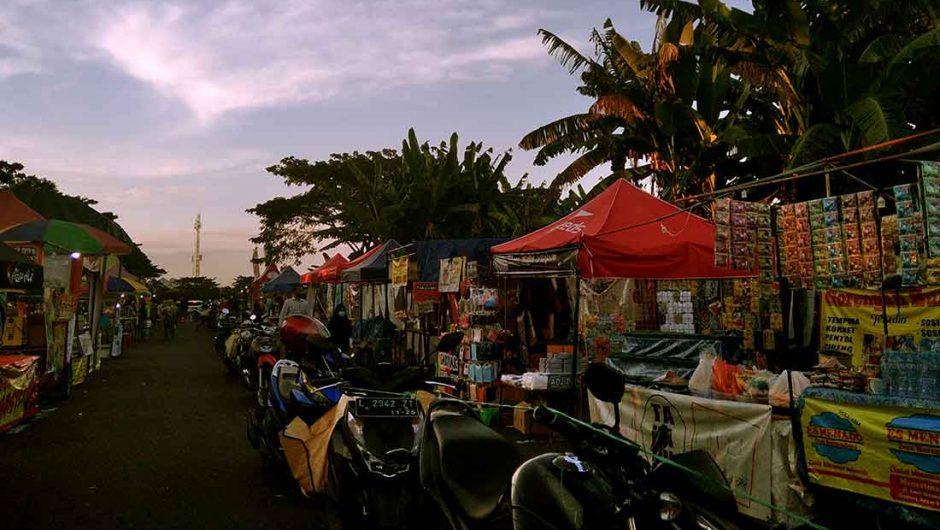 Semangat Pemburu Nafkah di Bazar Ramadhan