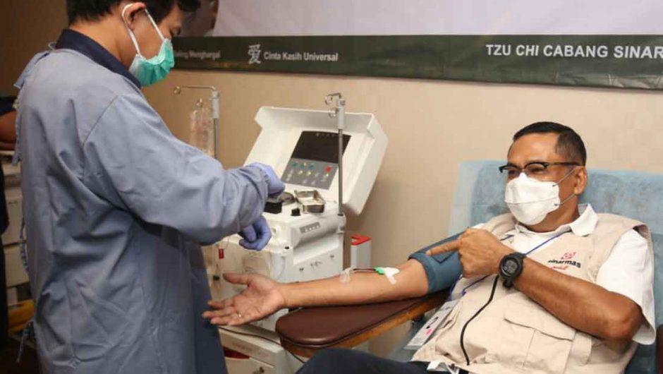 Pengusaha Peduli NKRI Gelar Donor Plasma Konvalesen