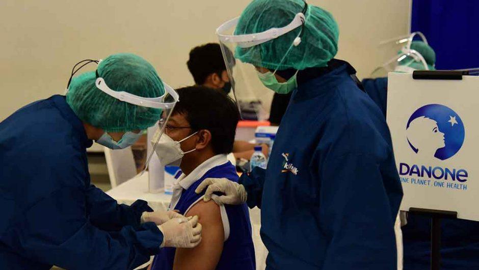 Danone Indonesia Gelar Vaksinasi untuk Karyawan