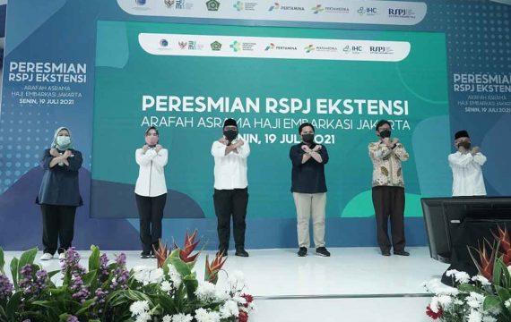 Erick Thohir: BUMN Dukung Asrama Haji jadi RS Penanganan Covid-19